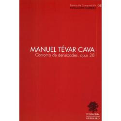 Manuel Tévar Cava. Contorno...